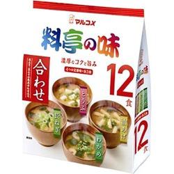 Miso Soup Assort 12pcs - Awase Miso