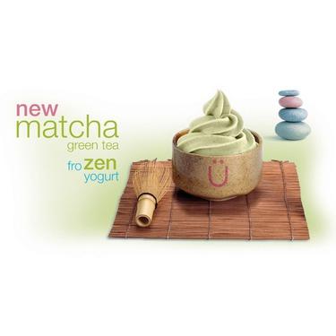Yogen Fruz Matcha Green Ice Cream