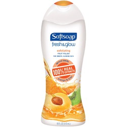 Softsoap Fresh & Glow Exfoliating Fruit Polish
