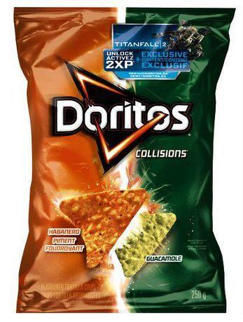 ... » Food & Drink » Snacks » Doritos Collisions Habanero & Guacamole