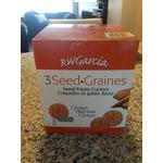 Rw Garcia 3 seed sweet potato crackers- gluten free