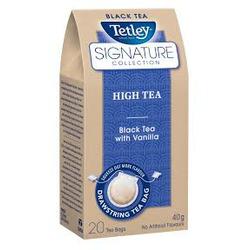 Tetley Signature Collection High Tea Black Tea with Vanilla