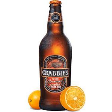 Crabbies Spiced Orange Alcoholic Ginger Beer