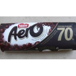 Nestle Aero 70% Cocoa Dark Chocolate