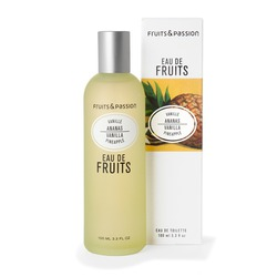 fruits and passion vanille ananas
