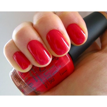 O.P.I Nail Lacquer in 'Big Apple Red'