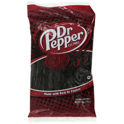Dr Pepper Flavoured Licorice Candy Twists