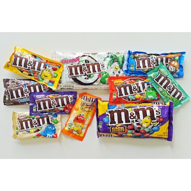 M&M;chocolates