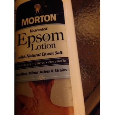 Morton unscented Epsom Lotion