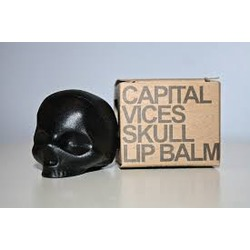 capital vices skull lip balm