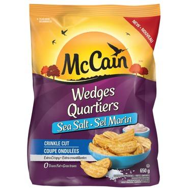 McCain Sea Salt Crinkle Cut Wedges