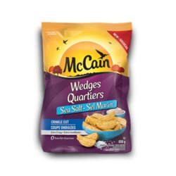 McCain Sea Salt Crinkle Cut Wedges