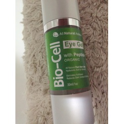 All natural advice eye gel