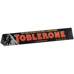 toblerone swiss dark chocolate with honey and almond nougat