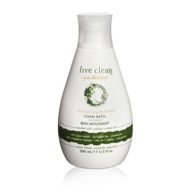 spa therapy moisturizing foam bath