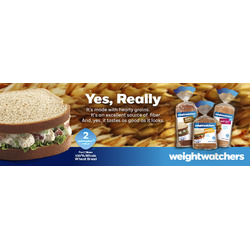 Weight Watchers Bread (White, Whole Wheat, Multigrain)