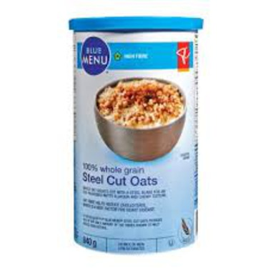 PC Blue Menu Steel Cut Oats