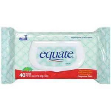 Equate alcohol swabs