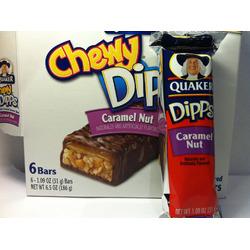 Quaker caramel nut granola bar