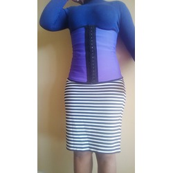 LiLuv Women's Latex Waist Trainer Shapewear and Corset