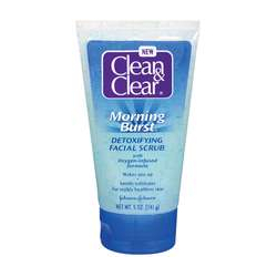 Clean & Clear Morning Burst Detoxifying Facial Scrub
