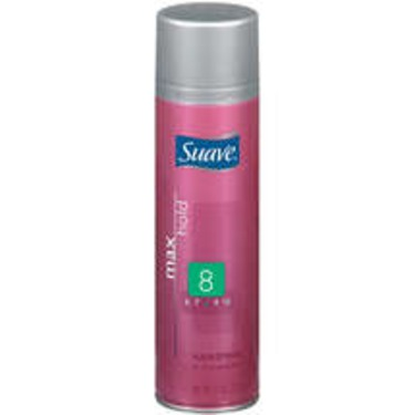 Suave Max Hold hairspray