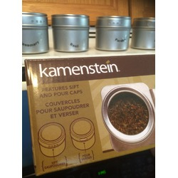 Kamenstein 6-Canister Spice Rack