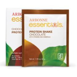 Arbonne Essentials protein shake- chocolate