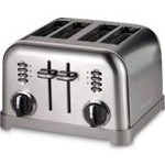 Cuisinart 4 slice toaster-Red