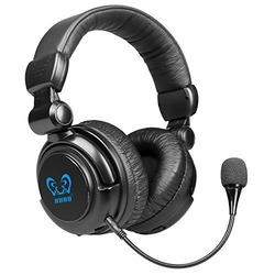 HAMSWAN® 2.4Ghz Optical Wireless Stereo Vibration Gaming Headset