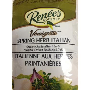 Renee's gourmet spring herb Italian dressing