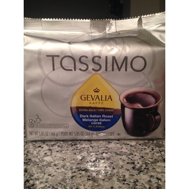 Gevalia Kaffe- Dark Italian Roast for tassimo