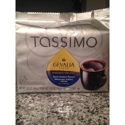 Gevalia Kaffe- Dark Italian Roast for tassimo
