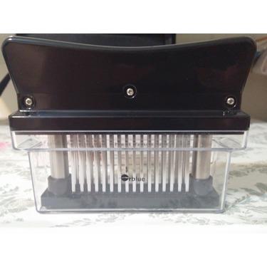 ORBLUE 48-Blade Stainless Steel Manual Meat Tenderizer