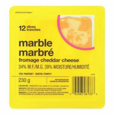 No name marble cheese block