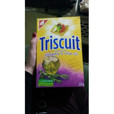 Triscuit - rosemary and olive oil