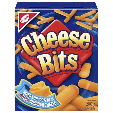 Cheese Bits Crackers