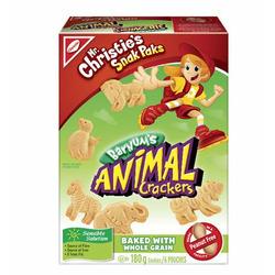 Christie animal cookies