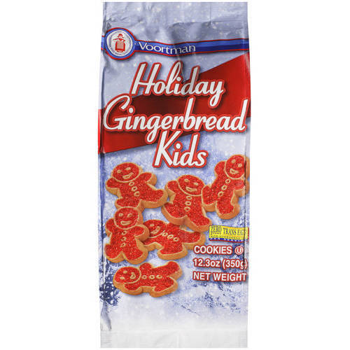Voortman Holiday Gingerbread Kids Reviews In Cookies Chickadvisor