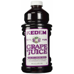 Kedem 100% Pure Kosher Grape Juice, For Passover and all Year Round