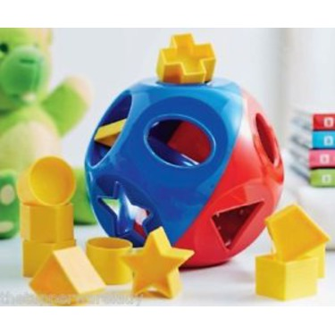 Tupperware Ball and shapes
