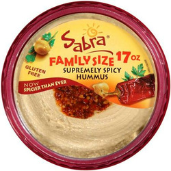 Sabra Supremely Spicy Hummus, 17 oz