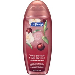 Softsoap Cherry Blossom & Wild Bamboo Moisturizing Body Wash, 18 oz