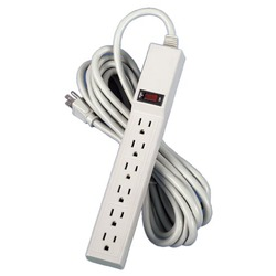 Fellowes 6-Outlet, 15-Foot Power Strip