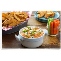 Buffalo Chicken Dip & McCain Savoury Wedges Recipe