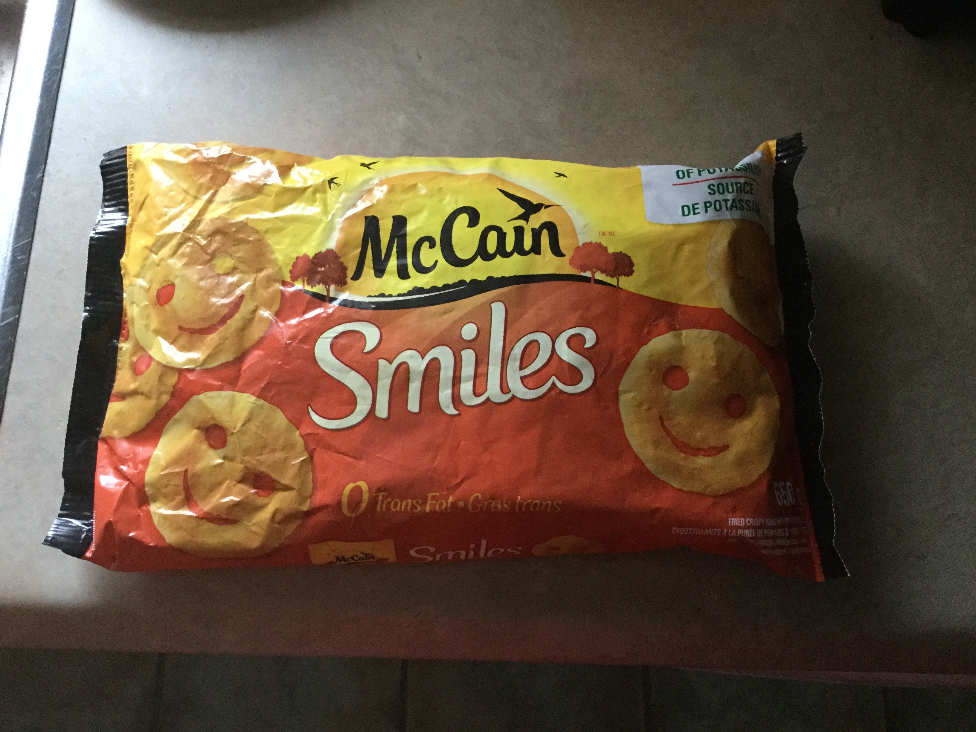 McCain Smiles reviews in Frozen Potatoes & French Fries - ChickAdvisor