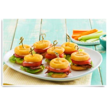 McCain Smiles BLT Mini Sandwiches Recipe