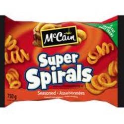 McCain Super Spirals