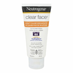 Neutrogena Clear Face Sunblock Lotion, SPF 30, 3 Ounce