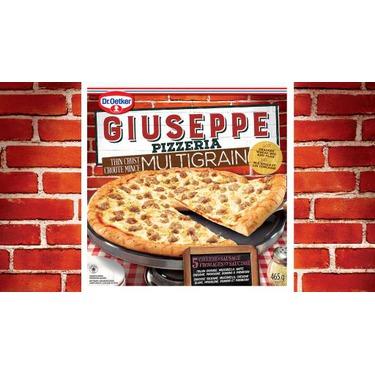 Dr. Oetker Giuseppe Pizzeria Thin Crust Multigrain 5 Cheese Sausage Pizza